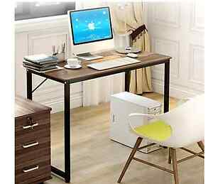 Simple Wood & Metal Computer Desk - $60 (RRP $149) Marrickville Marrickville Area Preview