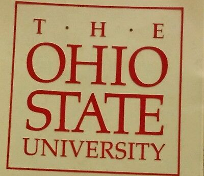 Ohio State University Car Window Decal Sticker OSU FOOTBALL Memorabilia Fan Gear
