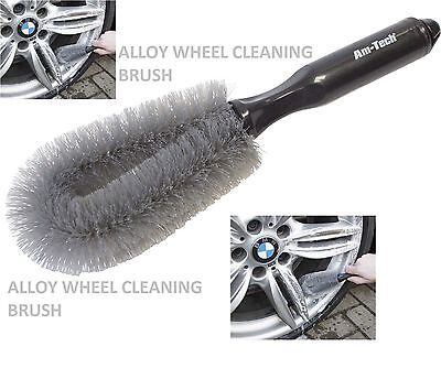 CAR WHEEL CLEANING BRUSH Tire WASHING CLEAN TYRE Alloy SOFT BRISTLE CLEANER 1PCS for sale  China