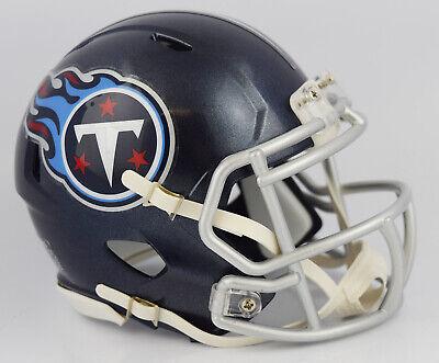 Tennessee Titans 2018 Satin Navy Metallic Revolution SPEED Mini -