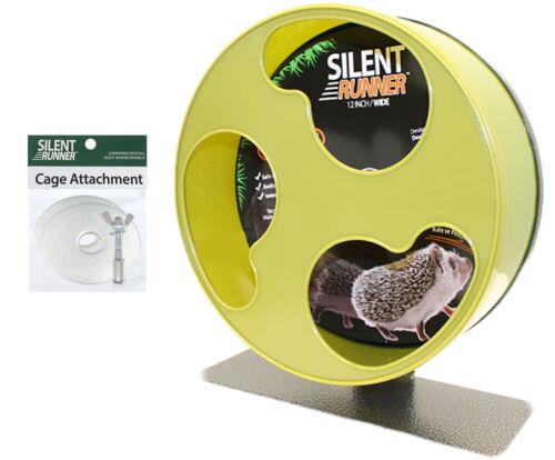 "Silent Runner Wheel 12"" Wide - Pet Exercise Wheel - Hedgehog, Sugar Glider, Rat"