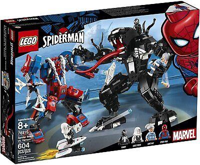 Lego Marvel Super Heroes 76115 SPIDER MECH VS VENOM Spiderman Ghost NEW SEALED