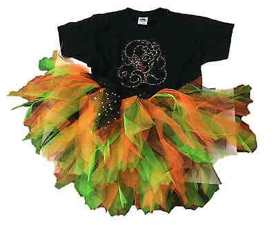 Halloween Costumes Of The 80s (DAY OF THE DEAD HALLOWEEN COSTUME TUTU SKIRT T-SHIRT ALL SIZES PLUS FANCY)