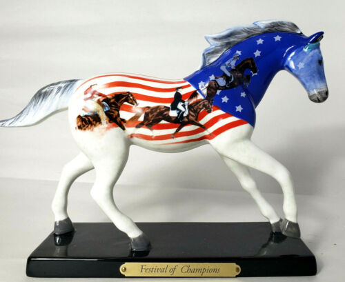 """Trail of the Painted Ponies """"FESTIVAL OF CHAMPIONS"""" 1E/1833 Box and Tag Retired"""