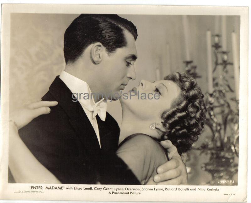 1934 ORIGINAL Paramount  Photograph of CARY GRANT & ELISSA  LANDI