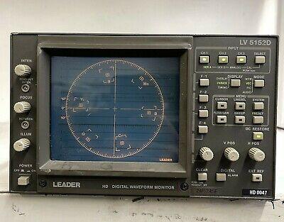 Leader Lv 5152d Monitor Digital Waveform Monitor