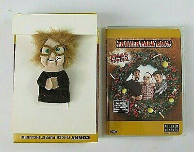 Trailer Park Boys Christmas Special DVD Box Set Conky Finger Puppet Bubbles TPB  ()