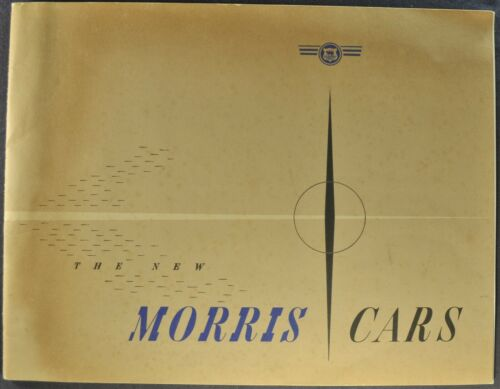 1950 Morris Catalog Oxford Minor 6 Saloon Sedan Convertible Excellent Original