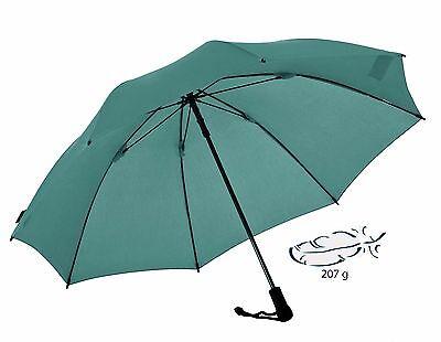 EUROSCHIRM Swing liteflex grüner Regenschirm für Damen und Herren Trekking  ()