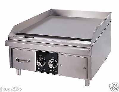Electric 24 Flat Top Griddle Counter Top 6000 Watts 220v 1 Phase