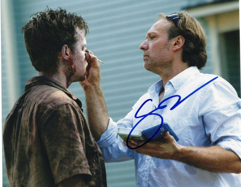 Gregory Nicotero The Walking Dead Signed 8x10 Photo w/COA Director #7
