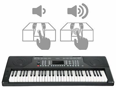 Teclado Piano Electrónico 61 Teclas Sensibles al Toque USB MIDI Organo Digital