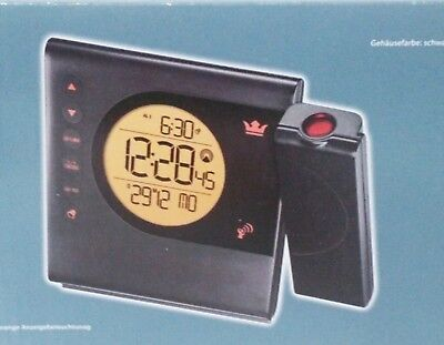 Digital Projektionswecker Projektionsuhr Wecker Slim Line Temperatur DE