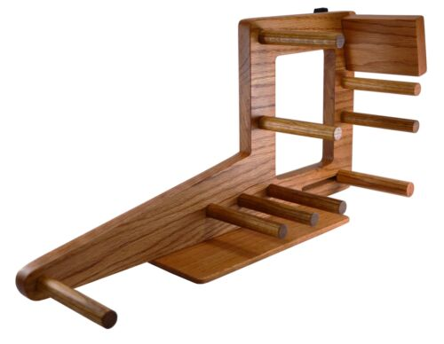"20"" Inkle Loom for Belt, Tablet or Card Weaving - Handmade from Red Oak"