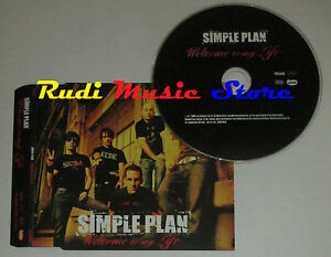CD-Singolo-SIMPLE-PLAN-Welcome-to-my-life-PROMO-2004-eu-LAVA-PRO15096-S2-mc-dvd