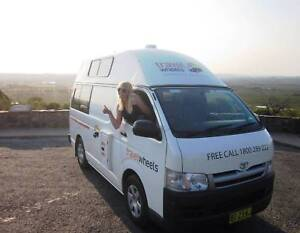 3 Person 2006 Toyota Hiace hi top campervan Botany Botany Bay Area Preview