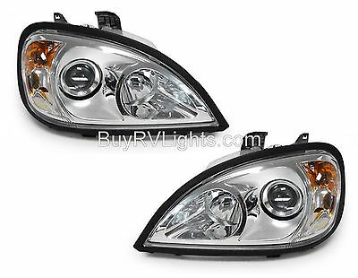TIFFIN PHAETON 2002 2003 CHROME PROJECTOR HEAD LIGHTS LAMPS HEADLIGHTS RV