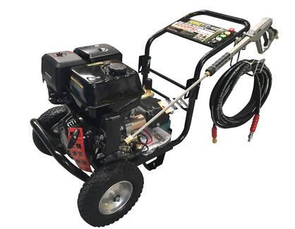 4000 PSI 15HP Petrol Pressure Washer - Electric Start