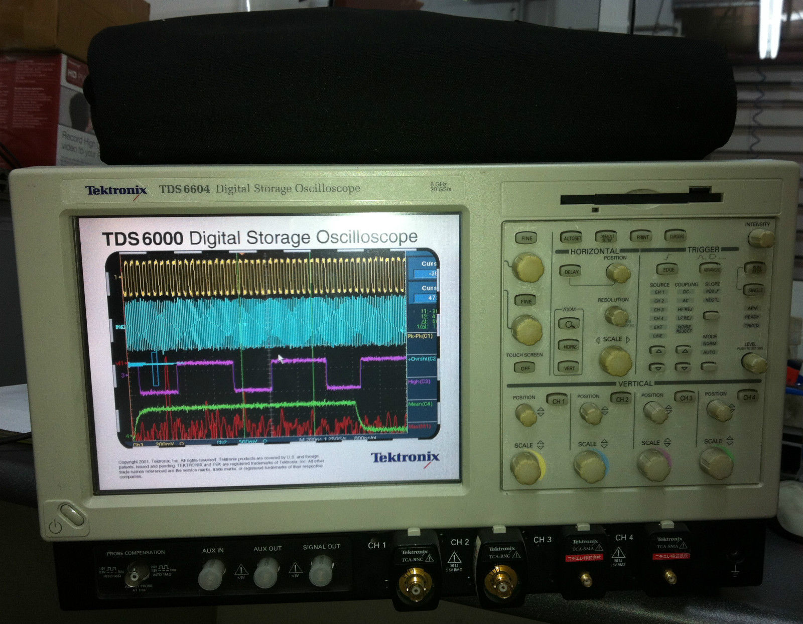 Tektronix TDS6604 Digital Oscilloscope