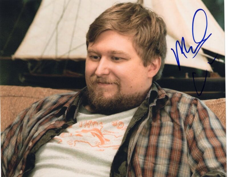 Michael Chernus signed Orange is the New Black 8x10 Photo w/COA Cal #4