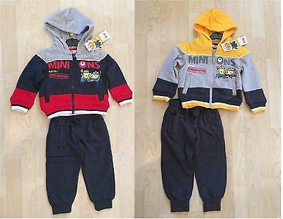 AUSVERKAUF Disney MINIONS Zweiteiler Jogging Anzug Jungen Kinder Gr.98 (Kinder Minion Anzug)
