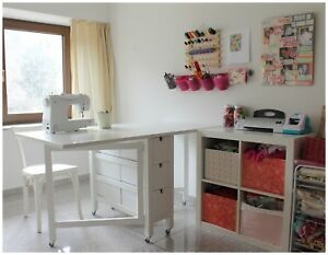 SEWING and CRAFTING TABLE