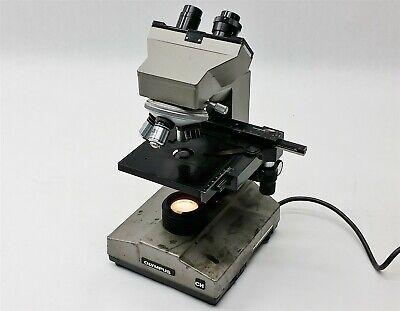 Olympus Ch Chbs Lab Laboratory Illuminated Microscope W4objective Lens
