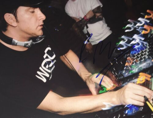 Badboy Bill Legendary Chicago House DJ Signed 8x10 Photo Autographed COA E3
