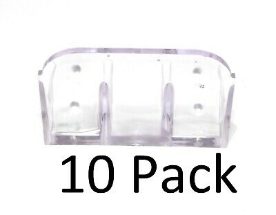10 Pack Roof Ice Guard Snow Guard Snow Stop Buildup Plastic Jumbo