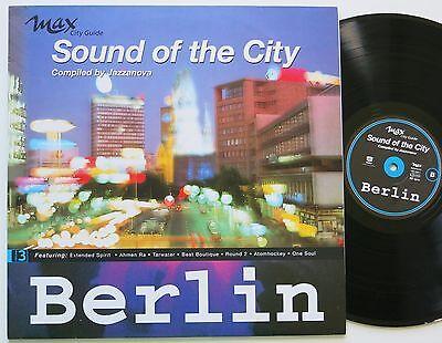 JAZZANOVA THE SOUND OF THE CITY BERLIN ORIG MOTOR DOWNTEMPO FUTURE JAZZ LP VG++