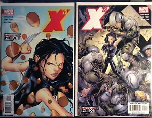 X-23 Laura Kinney #4 and #6 comic (2005 mini series to 6)
