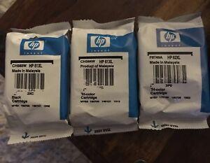 Cartouches HP 61xl et 62xl