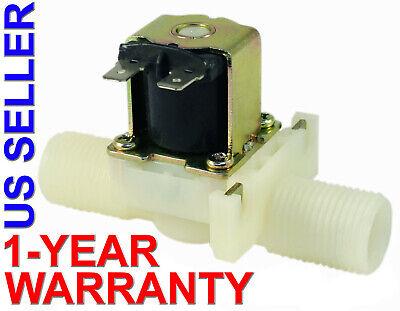 12 Inch Nps Thread 110v-120v Ac Plastic Nylon Solenoid Valve One-year Warranty
