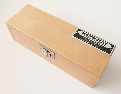 Original Jung Microtome Knives In Wooden Box