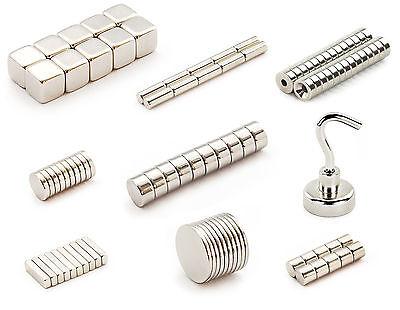 Neodym Magnete nach Wahl - Größe und Stückzahl wählbar - Starke Super