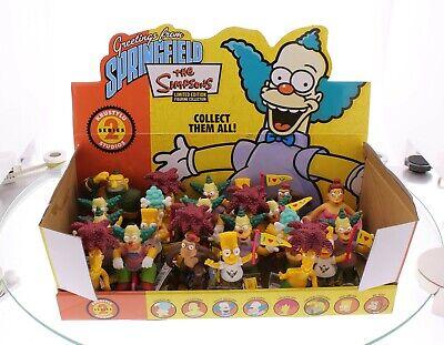 The Simpsons 24 Figuren, Display, Bart, Homer, Lisa, Marge, Series 2 NEU OVP