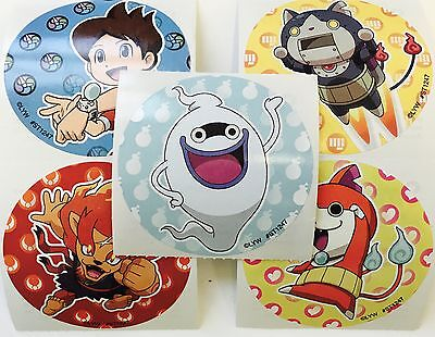 25 Yo-Kai Watch Stickers Party Favors Teacher Supply Nate