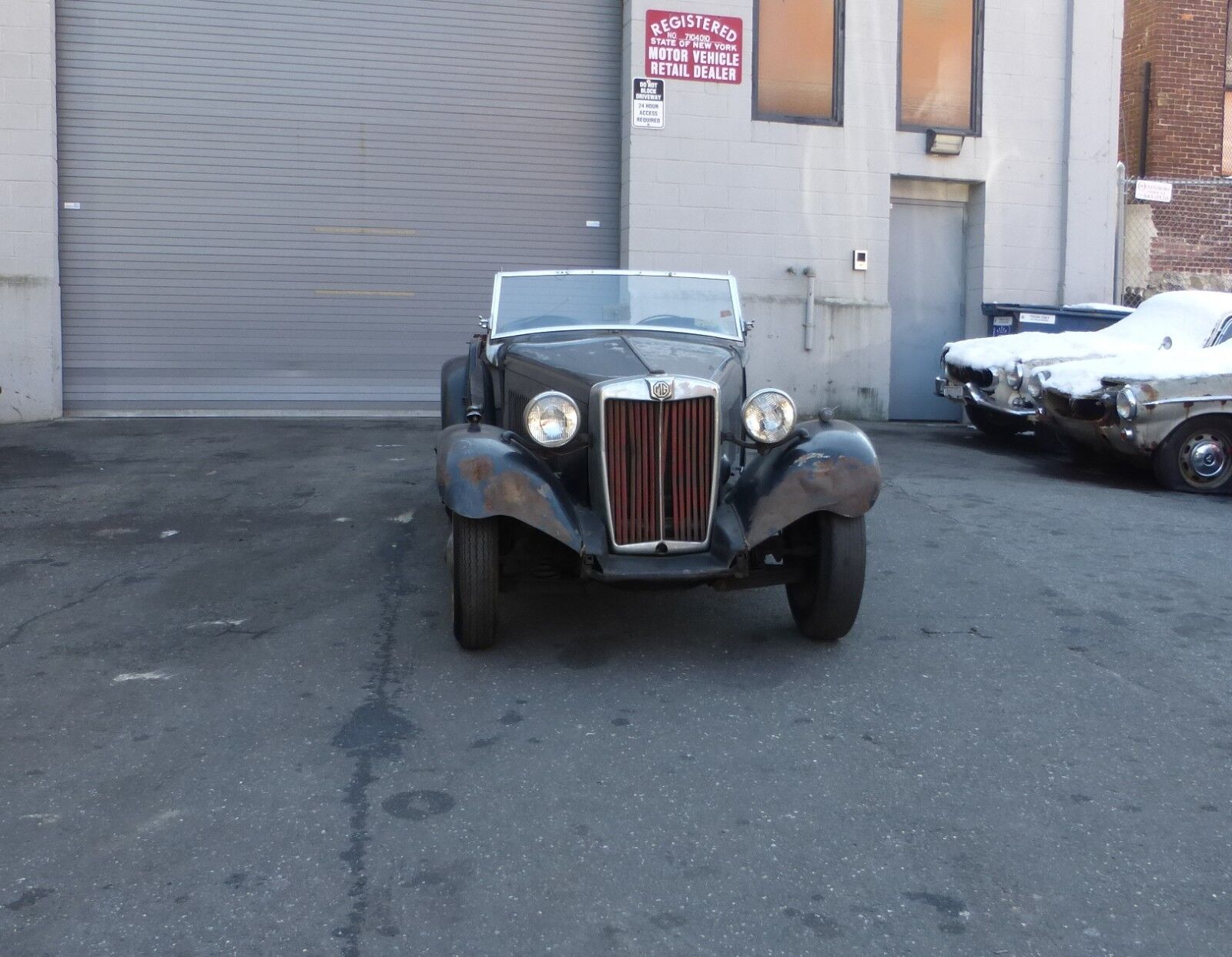 1953 MG T-Series MGTD: 1953 MG TD Complete Car for Restoration Low Reserve