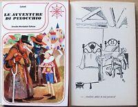 Collodi_ Pinocchio_ed. Mondadori, I Ed. 1976_ill. Bernardini_coll. Il Timone -  - ebay.it