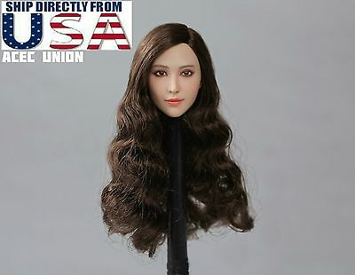 1/6 X-MEN Blink Female Head Sculpt Fan BingBing For Hot Toys PHICEN USA IN STOCK](Female X Men)