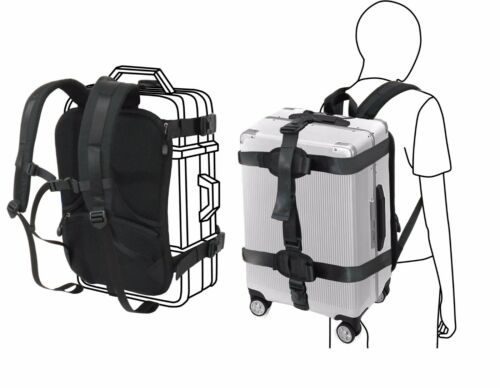 Hardcase / Carry On Trolley Luggage Backpack Conversion System Adjustable Straps