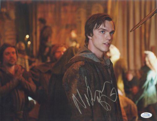 Jack the Giant Slayer Nicholas Hoult Autographed Signed 11x14 Photo COA #1