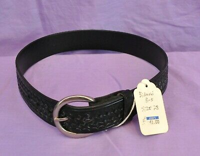 Bianchi B5 Basketweave Belt Size 28