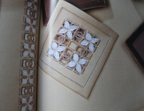 Creative Ideas with Hardanger Embroidery Book Patterns HC Home Decor See pics