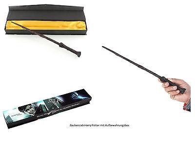 Orginal Zauberstab Replikat Harry Potter+Samt-Box 1Stk