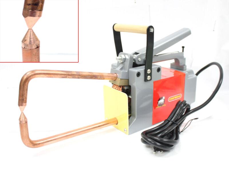 "ELECTRODES SPOT WELDER 1/8"" METAL STUD WELDING Machine w/Tongs & Tips"