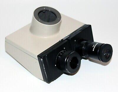 Olympus Bh2 Microscope Trinocular Head W Wf Eyes