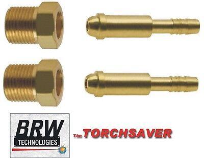 Argon Hose Repair Kit Rh Nut 14 Hose Nipple Migtig Welding B-rh-argon-250