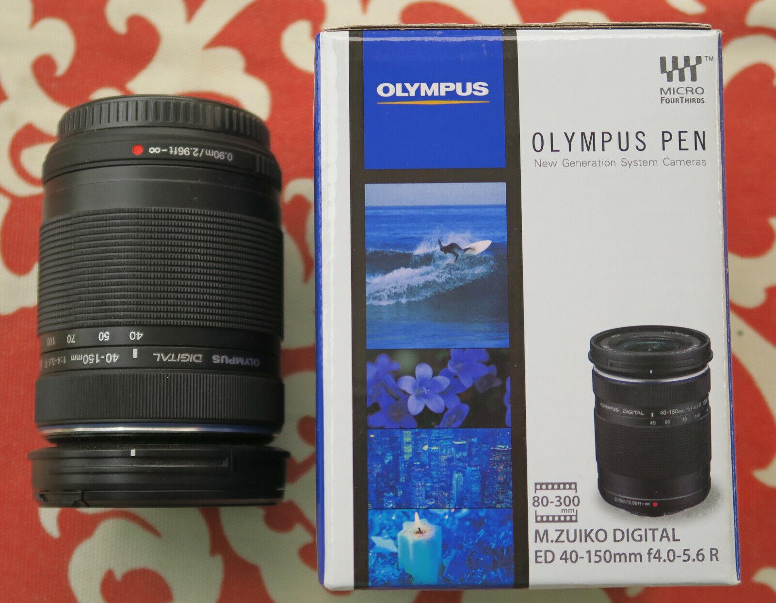 Olympus M.Zuiko 40-150mm F/4.0-5.6 Zoom Lens - Black Micro 4/3 - $53.00
