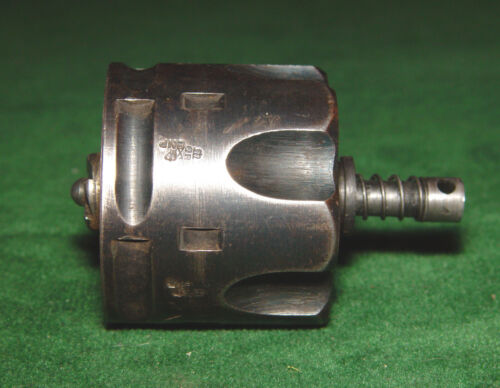 British Webley Mark VI .455 Cylinder with Ejector & Spring (Possibly .45 ACP)
